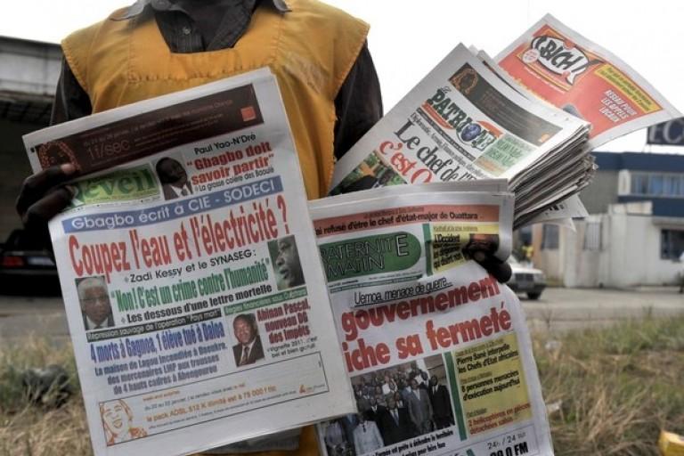 Titrologie ou revue de la  presse ivoirienne du mercredi 8 avril 2020