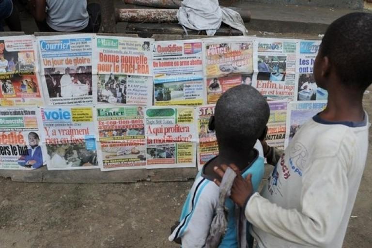 Titrologie : Revue de la presse ivoirienne du  10 février 2020