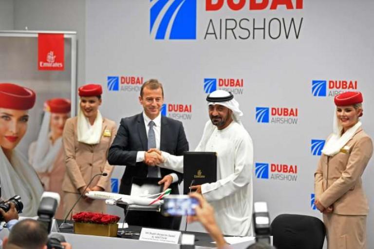 Commandes majeures pour Airbus à l'édition 2019 de Dubaï Airshow