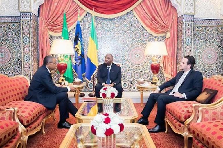 Ali Bongo et son ancien Directeur de cabinet