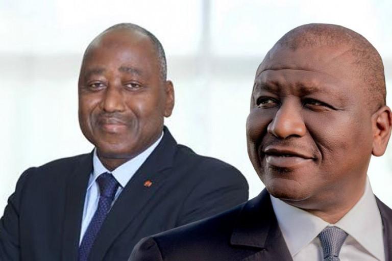 Amadou Gon Coulibaly, a reçu un autre artiste Couper décaler à son cabinet.