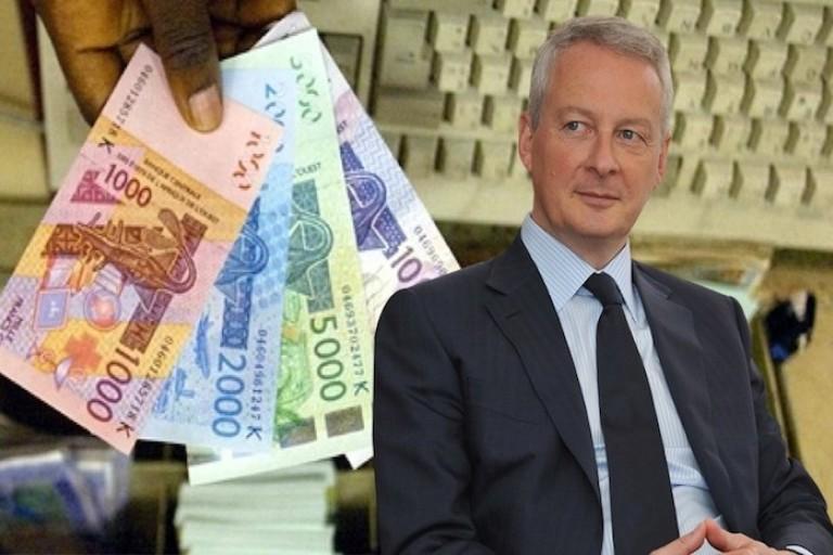 Bruno Le Maire d'accord pour la réforme du franc CFA, mais...