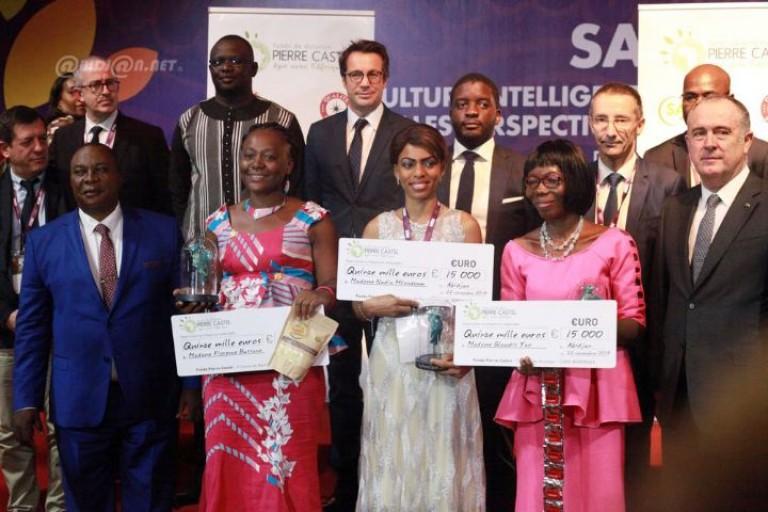 Les lauréates du Prix  Pierre Castel 2019 ont été honorées au SARA
