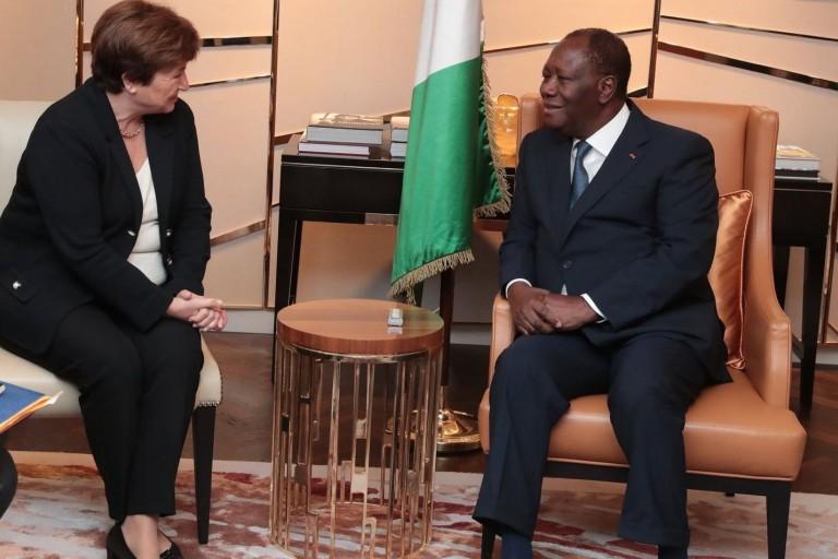 Alassane Ouattara à Berlin pour le G20 Compact With Africa