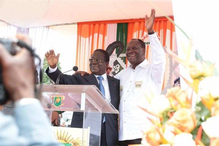 Bédié a lancé l'appel de Daoukro