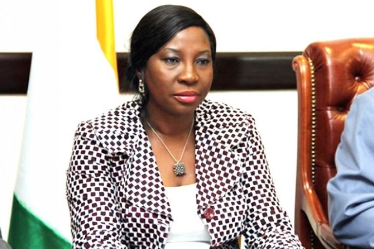 La ministre Kandia Camara interpellée à Séguéla