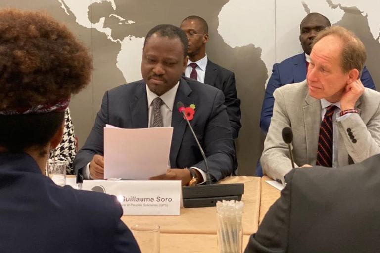 Guillaume Soro déchire le bilan flatteur d'Alassane Ouattara
