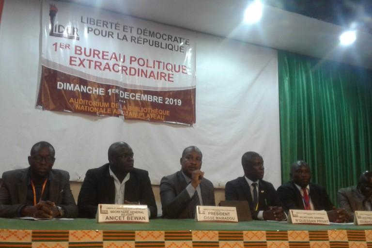 LIDER: Cissé Mamadou remplace Lancina Karamoko à la tête du parti