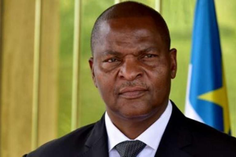 Faustin Archange Touadera, président de la République de Centrafrique