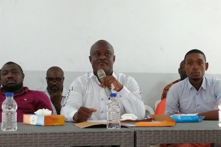 Kabi Yves et ses camarades de la MJP ont embarqué avec Ouattara dans le train du développement