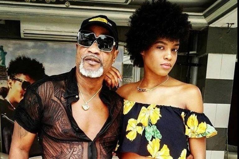 Koffi Olomidé et sa fille