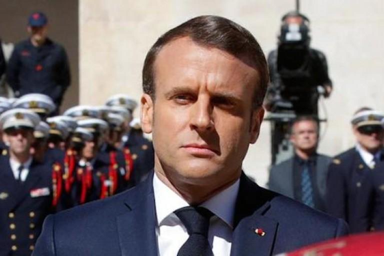 Emmanuel Macron sur le site du Bombardement de Bouaké ?
