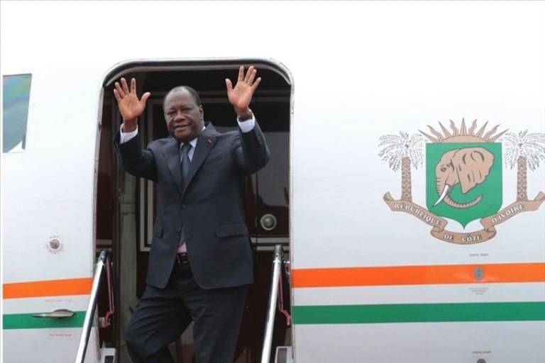 Le Président Ouattara s'envole pour la France