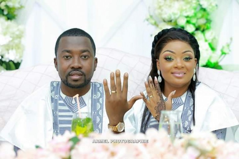 Souleymane Kamagaté et son épouse Bamba Ami Sarah