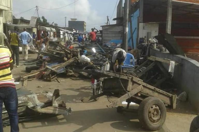 Abobo, pourquoi des magasins sont détruits notamment