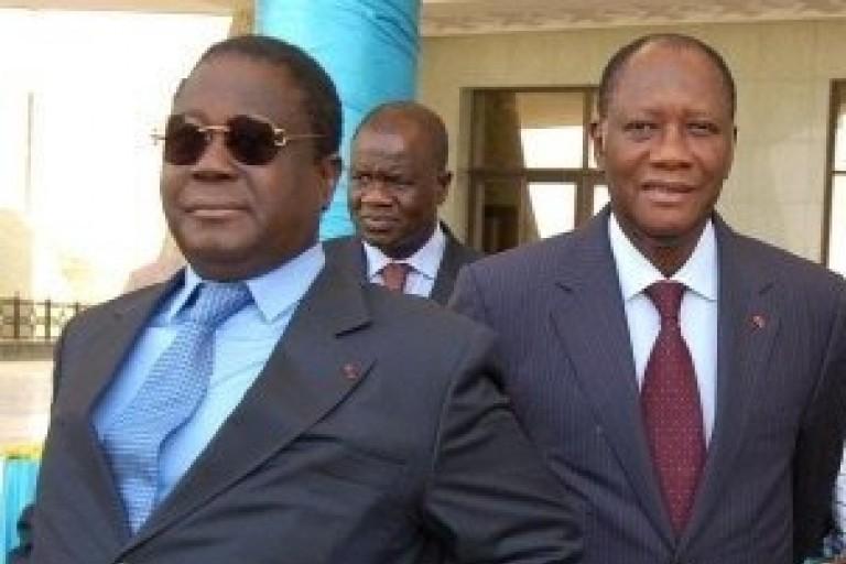 Henri Konan Bédié fait un autre croque en jambes à Ouattara
