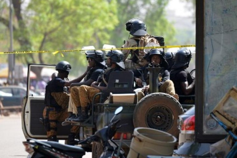 L'armée du Burkina Faso fait une grosse saisie