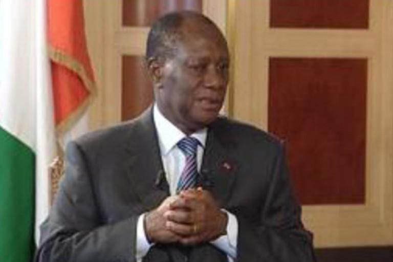 Alassane Ouattara, président de la République de Côte d'Ivoire est sous pression