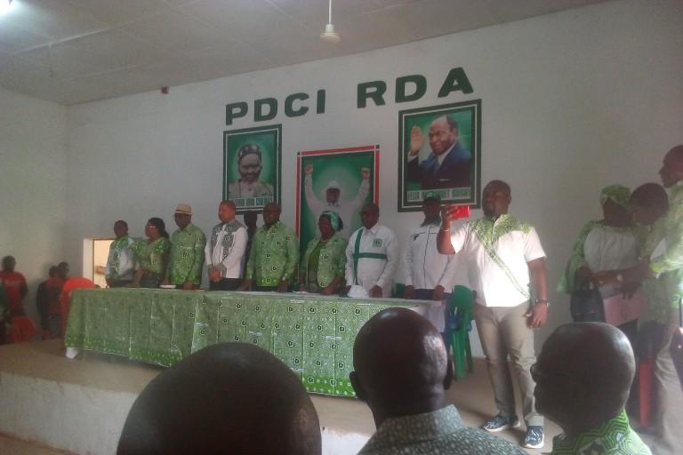 Présidentielles 2020: Le PDCI en ordre de bataille à Korhogo