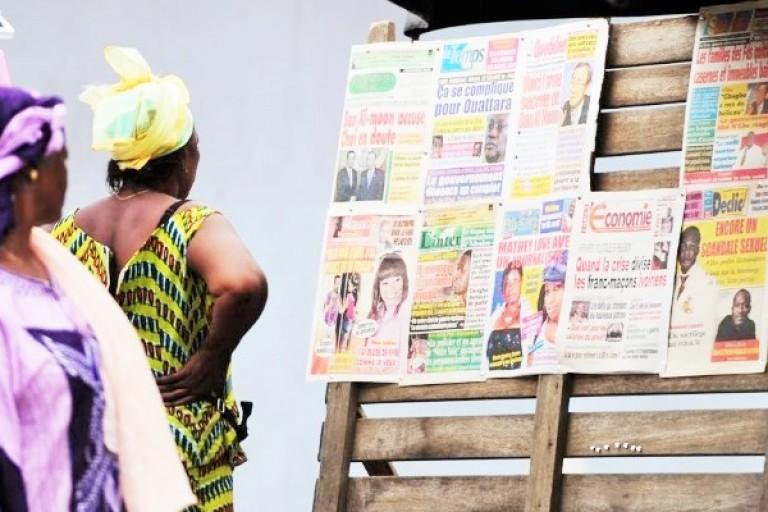 Titrologie : Revue de la presse ivoirienne du 22  octobre 2020