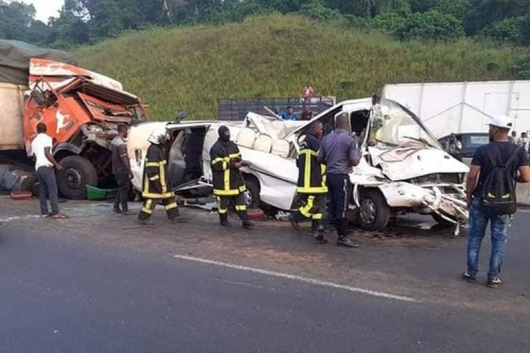 Un grave accident s'est produit sur l'axe Abidjan Yamoussoukro