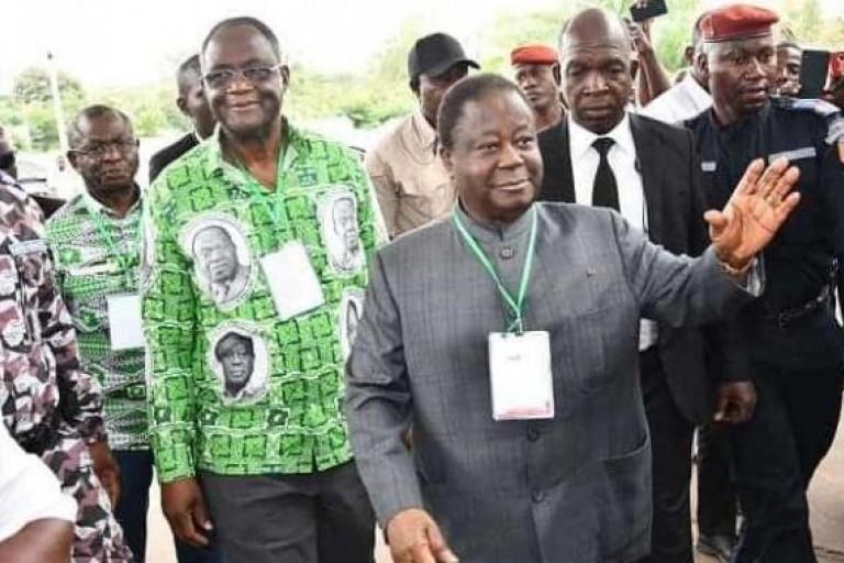 Henri Konan Bédié confie une importante mission aux cadres de Kouassi-Kouassikro