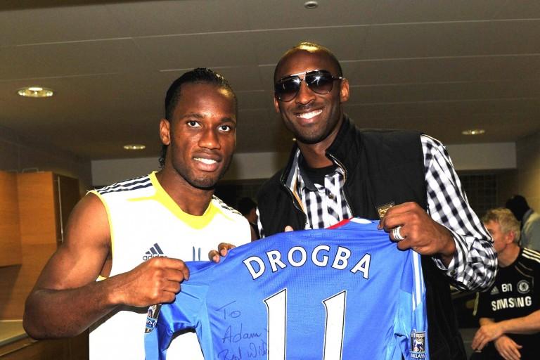 Didier Drogba rend hommage à Kobe Bryant, un