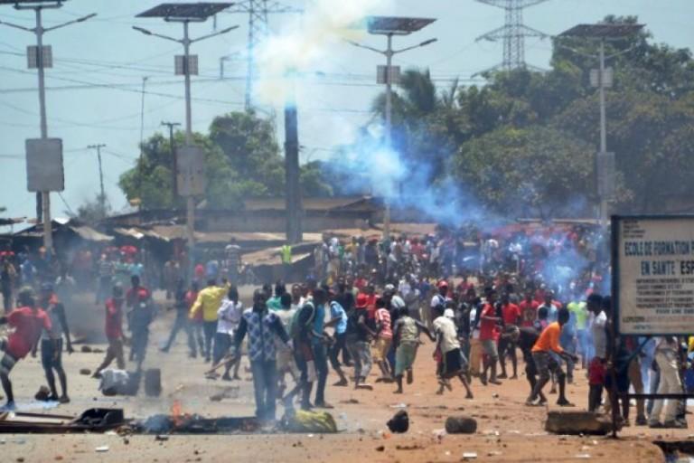 De nouvelles scènes de violence en Guinée