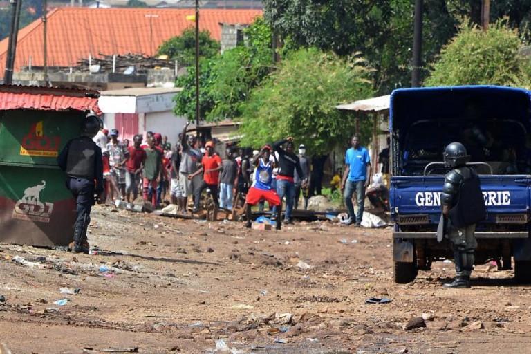 Guinée : La gendarmerie de Dalaba assiégée, des armes emportées