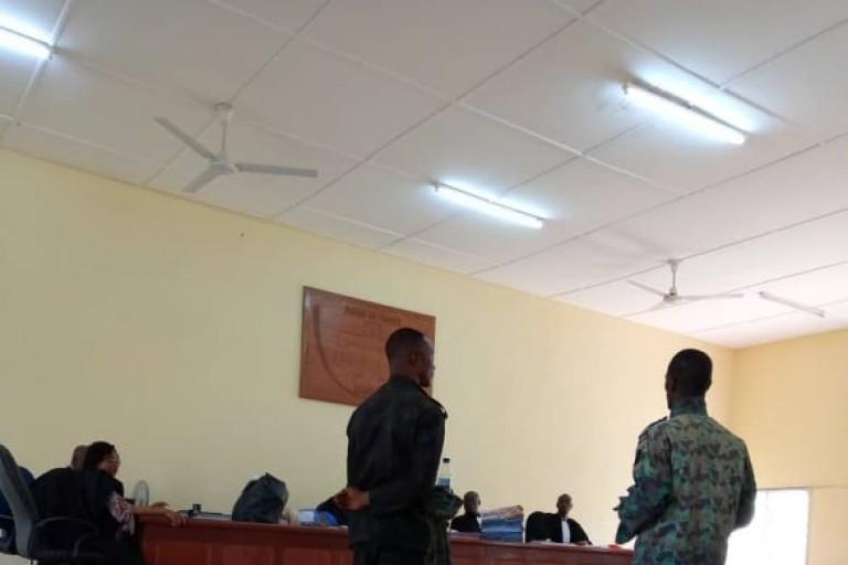 Un soldat du 1er bataillon du Génie militaire de Bouaké et ses complices condamné