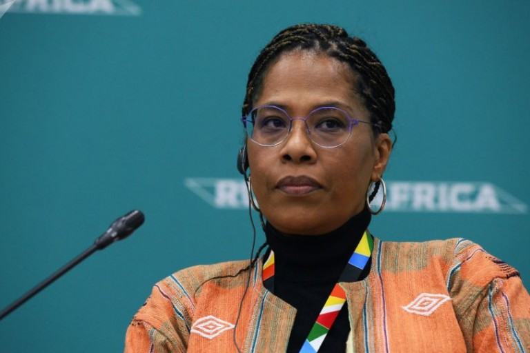 Nathalie Yamb, conseillère exécutif de Mamadou Koulibaly