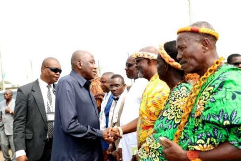 Amadou Gon dans le Gbôklê poser des actes forts de développement