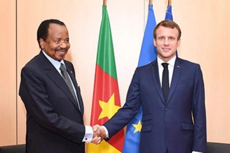 Paul Biya Emmanuel Macron - Cameroun et la France