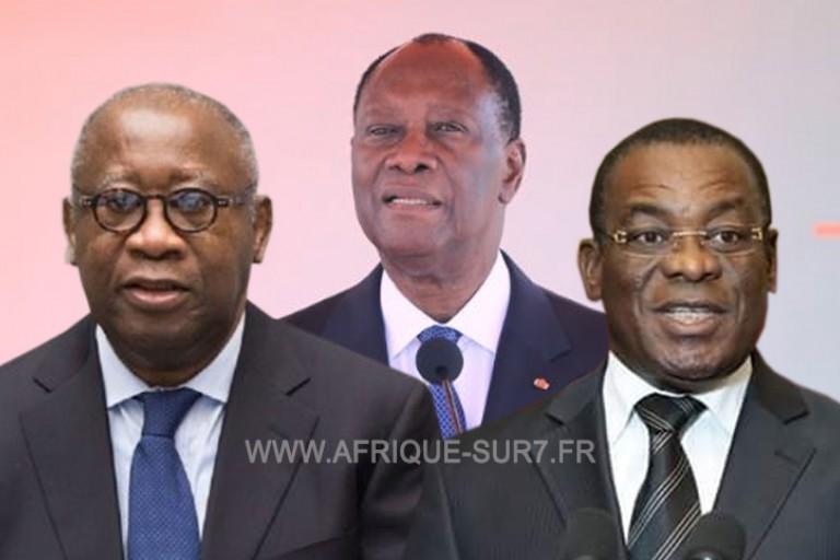 Laurent Gbagbo Alassane Ouattara Affi N'Guessan