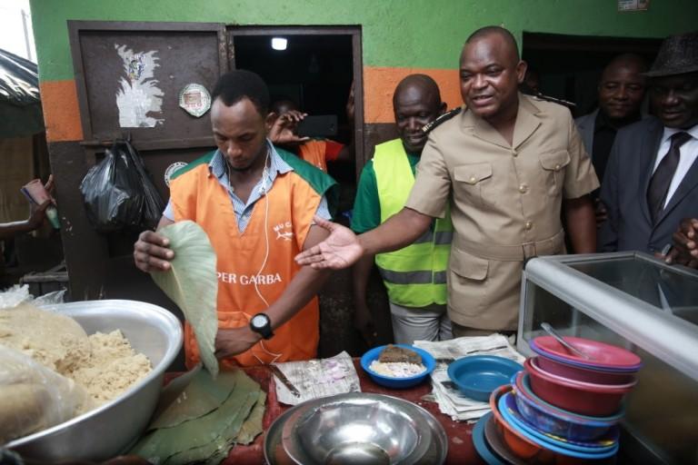 garbadrômes, Vincent Toh Bi Irié - Le préfet d'Abidjan