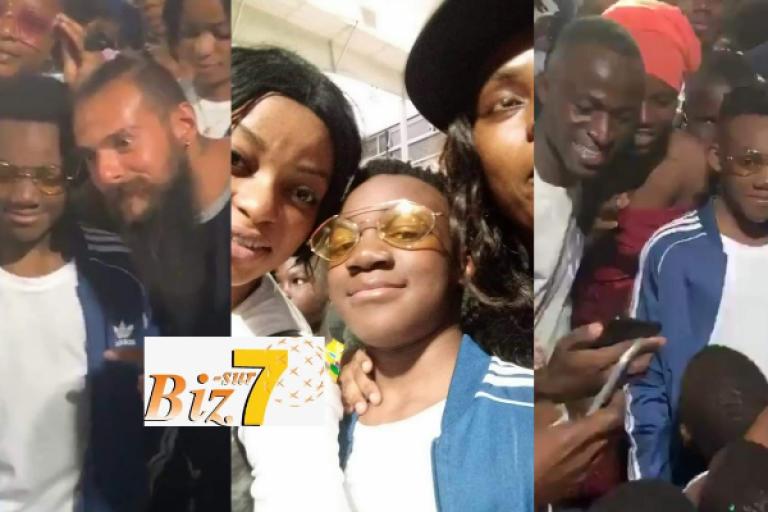 Retour triomphal à Abidjan de Mael Houon, le fils de DJ Arafat