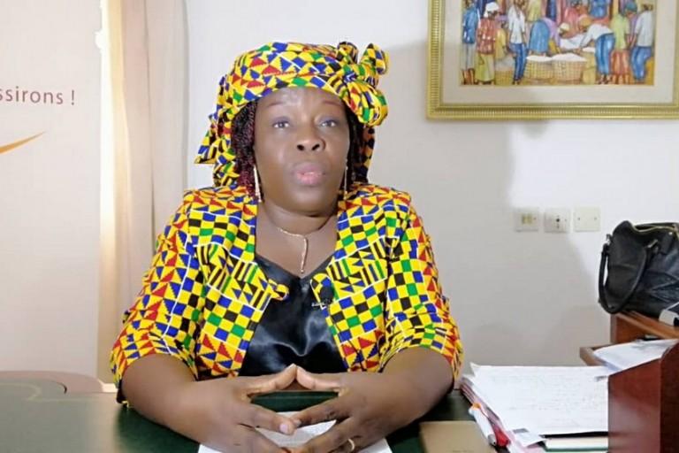 Présidentielle 2020, Monique Gbekia