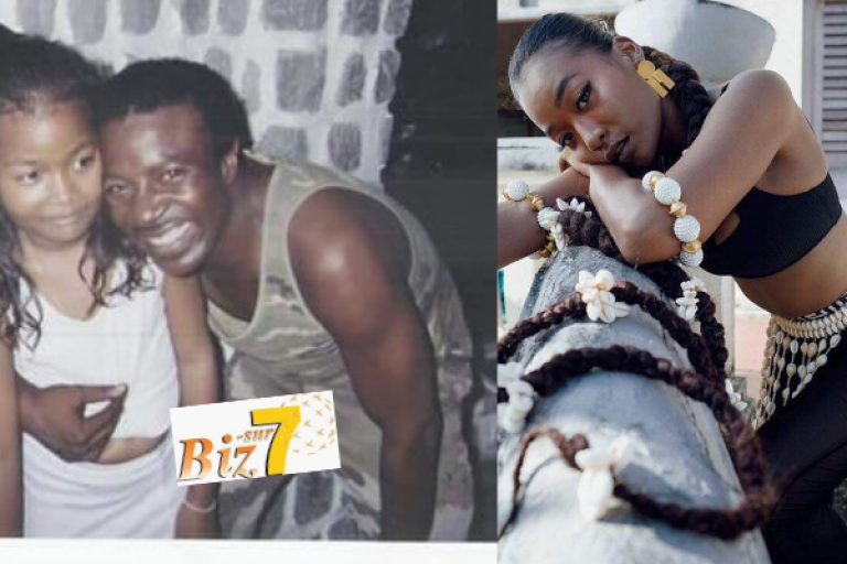 Alpha Blondy et sa fille Soukeina