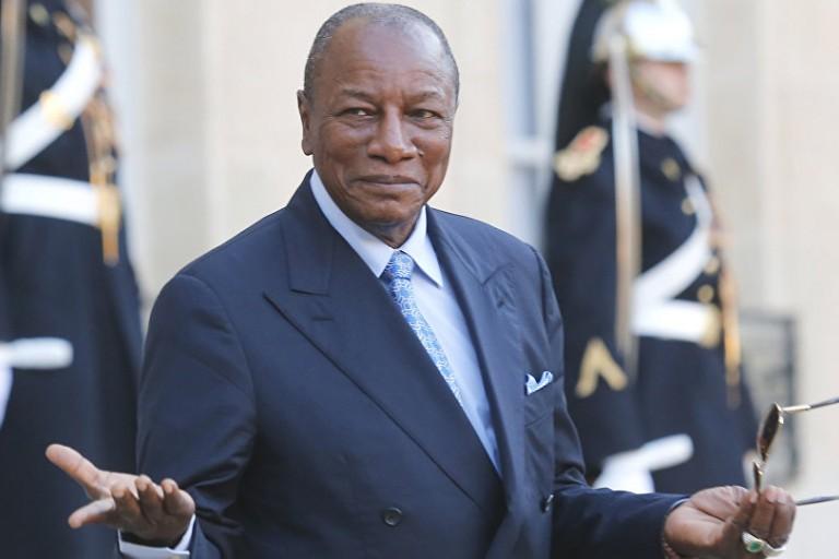 Alpha Condé ne veut pas de la CEDEAO en Guinée