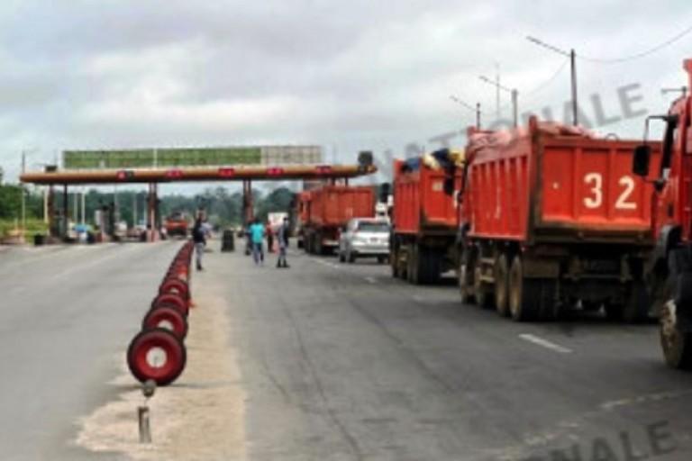 Le pont à péage d'Abidjan