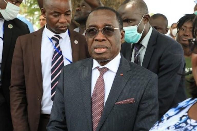 Eugène Aka Aouélé, ministre ivoirien de la Santé et de l'Hygiène publique