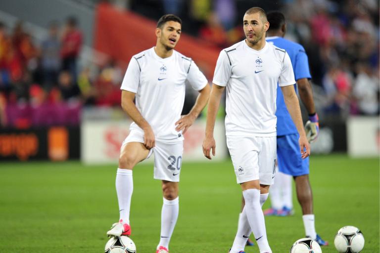 Ben Arfa et Karim Benzema, lorsqu'ils jouaient ensemble