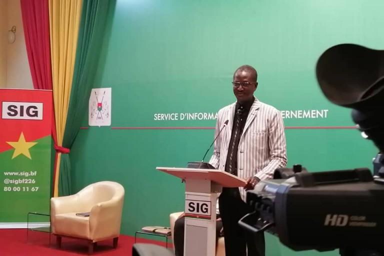 Pr Martial Ouédraogo  a annoncé le décès d'une atteinte de la maladie à Coronavirus au Burkina Faso