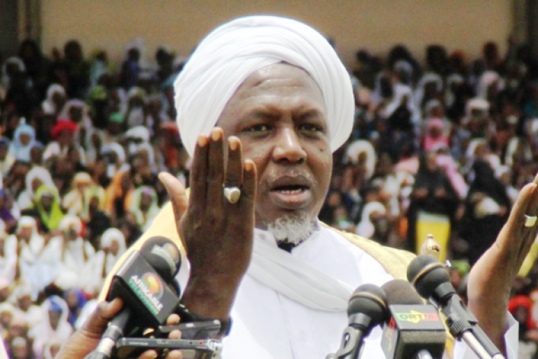 Imam Mahmoud Dicko, chef de file de la contestation anti-IBK