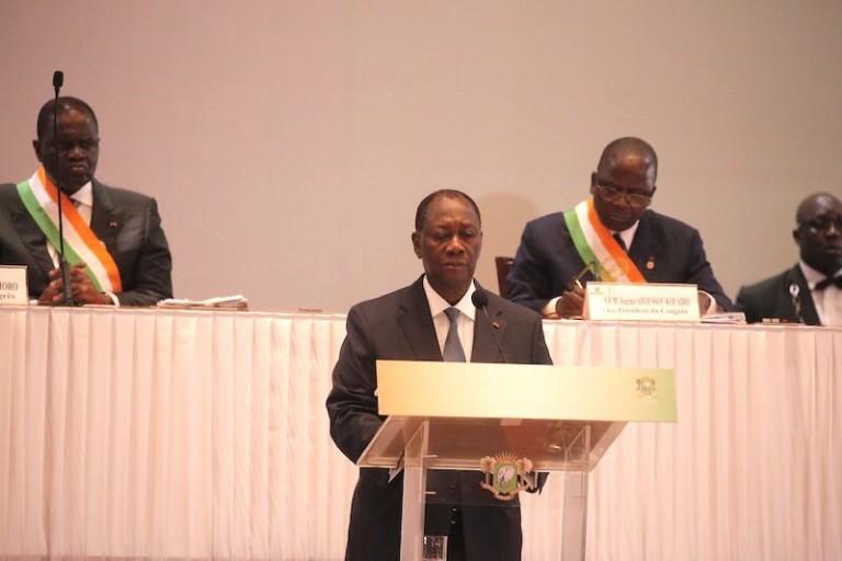 Présidentielle: Ouattara se retire et avoue n'avoir pas tout réussi