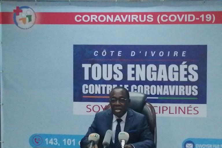 Covid-19 : 36 nouveaux cas positifs signalés ce jour en Côte d'Ivoire