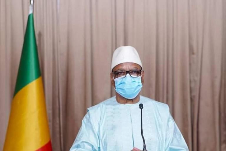Crise du covid 19 : Ibrahim Boubacar Keita se