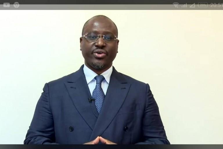 Guillaume Soro, président de GPS et candidat à la présidentielle 2020