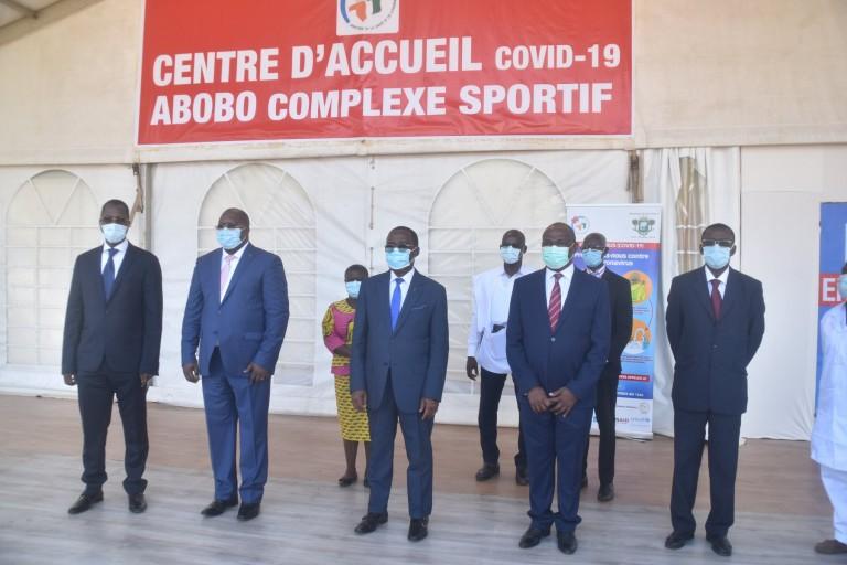 La commune d'Abobo a son centre d'accueil de la covid -19