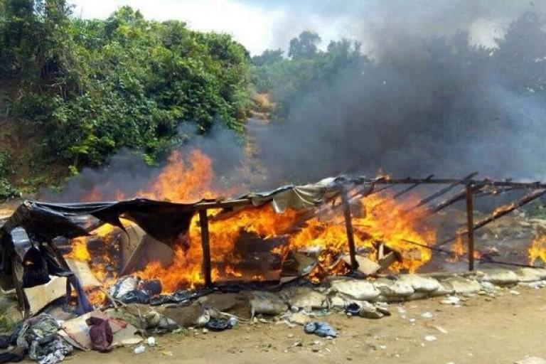La police mène une opération de sécurité à Attécoubé